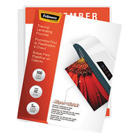 Fellowes 5223001 SuperQuick 11 inch x 9 inch Letter Laminating Pouch - 5 Mil - 100/Pack