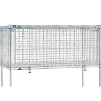 Metro SECM2430NS 24 inch x 30 inch x 24 inch Stainless Steel Super Erecta Security Module