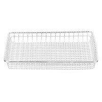 Clipper Mill by GET 4-83599 9 inch x 9 inch Stainless Steel Square Wire Grid Basket