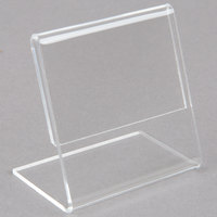 Vollrath V20072 Cubic 2 3/8 inch x 2 3/8 inch Clear Acrylic Card Holder