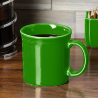 Homer Laughlin 570324 Fiesta Shamrock 12 oz. China Java Mug - 12/Case