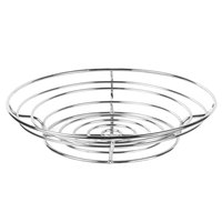 Clipper Mill by GET WB-721 15 inch Chrome Plated Iron Round Wire Basket