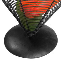 Clipper Mill by GET WB-703 Black Powder Coated Iron Wire Basket Base