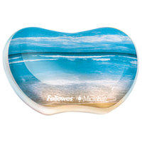 Fellowes 9179501 Sandy Beach Gel Wrist Rest with Microban Protection