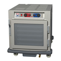 Metro C593L-SFC-U C5 9 Series Undercounter Heated Holding and Proofing Cabinet - Clear Door