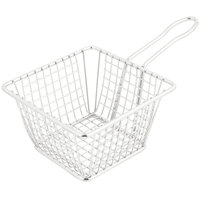 5 inch Square Stainless Steel Mini Fry Basket