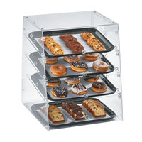 Vollrath KDC1418-4F-06 Acrylic Bakery Display Case with Front Doors - 18 1/2 inch x 19 5/8 inch x 22 3/4 inch