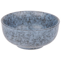 10 Strawberry Street BISEKI-7RD Biseki 16 oz. Blue Stoneware Cereal Bowl - 36/Case