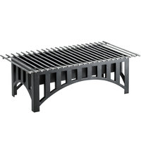 Cal-Mil 1360-22-13 Mission Black Chafer Alternative - 22 inch x 12 inch x 7 1/2 inch