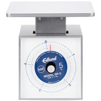 Edlund SR-5 OP Premier Series 5 lb. Mechanical Portion Scale with 7 inch x 8 3/4 inch Platform