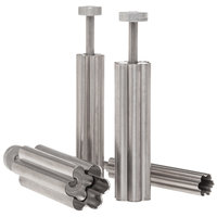 Ateco 1942 4-Piece Stainless Steel Flower Plunger Cutter Set