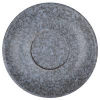 10 Strawberry Street BISEKI-9S Biseki 6 inch Blue Stoneware Saucer - 72/Case