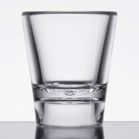 GET SW-1433 (SW1433) SAN Plastic 7/8 oz. Shooter Glass - 24/Case