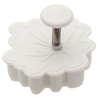 Ateco 1983 2 inch Plastic Leaf Plunger Cutter (August Thomsen)