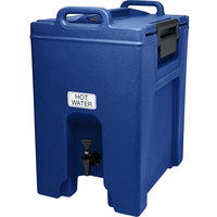 Cambro UC1000186 Ultra Camtainers® 10.5 Gallon Navy Blue Insulated Beverage Dispenser
