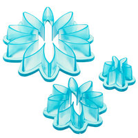 Ateco 1966 3-Piece Blue Plastic Daisy Cutter Set (August Thomsen)
