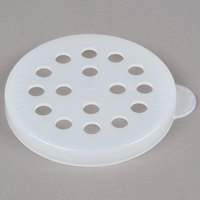 Cambro 96SKRLP148 White Shaker Lid for Parsley