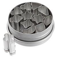 Ateco 4846 12-Piece Tin 1/2 inch Aspic Cutter Set