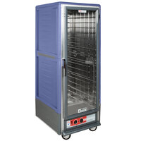 Metro C539-HFC-4-BU C5 3 Series Heated Holding Cabinet with Clear Door - Blue