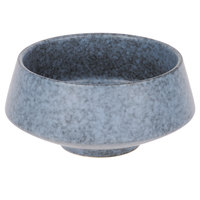 10 Strawberry Street BISEKI-11 Biseki 20 oz. Blue Stoneware Demi Bowl - 12/Case