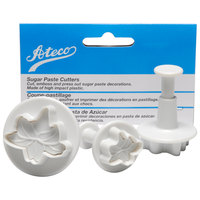 Ateco 1952 3-Piece Plastic Lily Plunger Cutter Set (August Thomsen)