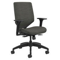 HON SVU1ACLC10TK Solve Series Ink Upholstered Back Task Chair with Casters