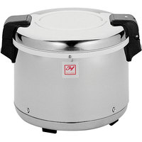 Thunder Group SEJ2000 30 Cup Rice Warmer with Mirror Finish - 120V