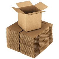 16 inch x 16 inch x 16 inch Kraft Shipping Box - 25/Bundle
