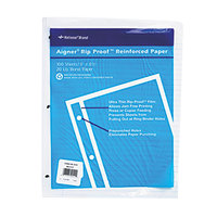 Rediform Office 20122 8 1/2 inch x 11 inch Pack of Binder / Notebook 5/16 inch Rule Refill Sheet - 100/Sheets