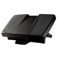 Fellowes 8067001 17 3/4 inch x 13 1/4 inch Ultimate Black Foot Support
