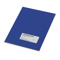 National 43571 Casebound Blue 9 1/4 inch x 7 1/2 inch Narrow Ruled Chemistry Notebook - 60 Sheets