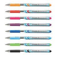 Stride 151298 Schneider Slider Assorted Ink with Assorted Barrel Color 1.4mm Ballpoint Stick Pen