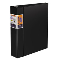 Stride 29031 QuickFit Black Non-View Deluxe Commercial Binder with 2 inch Slant Rings