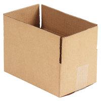 10 inch x 6 inch x 4 inch Kraft Shipping Box - 25/Bundle