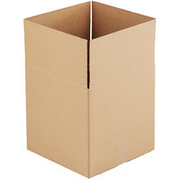 14 inch x 14 inch x 14 inch Kraft Shipping Box - 25/Bundle