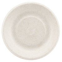 "Green Wave Ovation Sugarcane / Bagasse OV-P006 6"" Premium Biodegradable and Compostable Plate - 125/Pack"