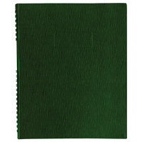 Blueline A10200EGRN NotePro Wirebound Green 11 inch x 8 1/2 inch College Ruled Notebook - 100 Sheets