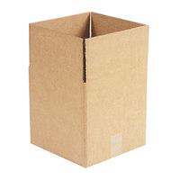 10 inch x 10 inch x 10 inch Kraft Shipping Box - 25/Bundle