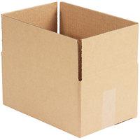 12 inch x 8 inch x 6 inch Kraft Shipping Box   - 25/Bundle