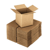 18 inch x 18 inch x 18 inch Kraft Shipping Box - 20/Bundle