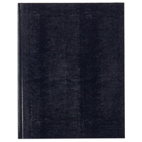 Blueline A1082 Hardbound Blue 11 inch x 8 1/2 inch College Ruled Executive Notebook - 75 Sheets