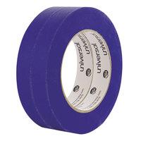 Universal UNVPT14019 3/4 inch x 59.9 Yards Premium Blue Masking Tape - 2/Pack