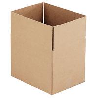 16 inch x 12 inch x 12 inch Kraft Shipping Box - 25/Bundle