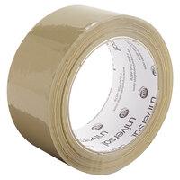 Universal UNV63501 2 inch x 109 Yards Tan General-Purpose Box Sealing Tape - 6/Pack