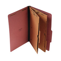 Universal UNV10326 Legal Size Classification Folder - 10/Box