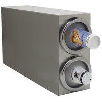 Carlisle 38882G 2 Tube Countertop Vertical Cabinet Cup Dispenser