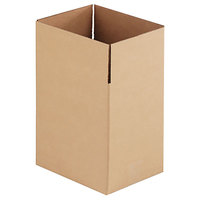 11 1/4 inch x 8 3/4 inch x 12 inch Kraft Shipping Box - 25/Bundle