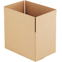 18 inch x 12 inch x 12 inch Kraft Shipping Box - 25/Bundle