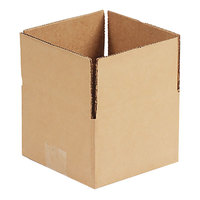 United Facility Supplies 1184 11 1/4 inch x 8 3/4 inch x 4 inch Brown Corrugated Fixed-Depth Shipping Box   - 25/Bundle