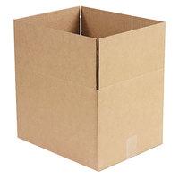 15 inch x 12 inch x 10 inch Kraft Shipping Box - 25/Bundle